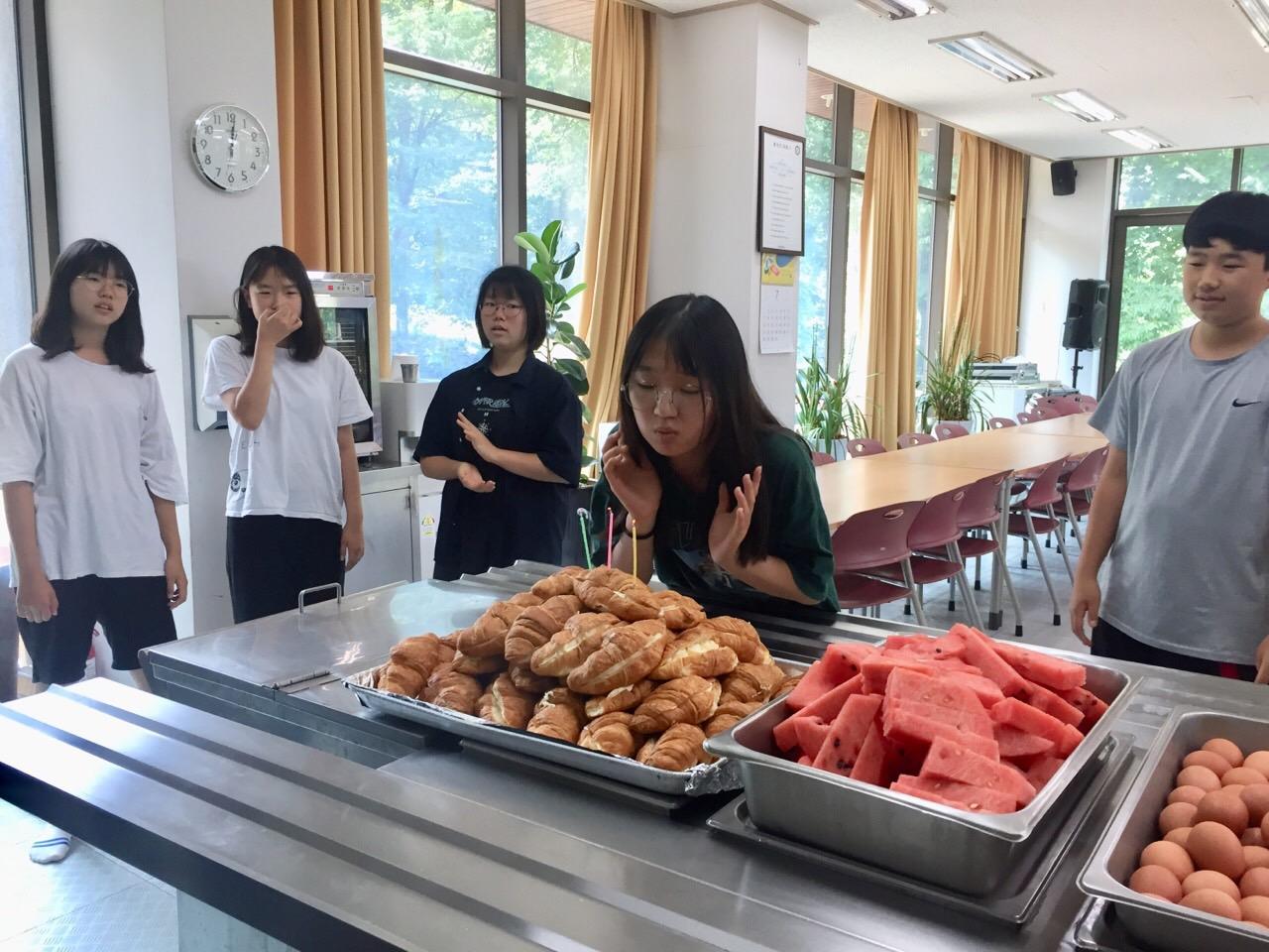 김예은 학생의 생일